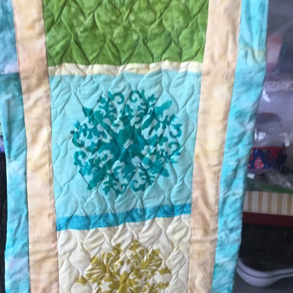 Handmade Quilted Runner/Wall Hanging